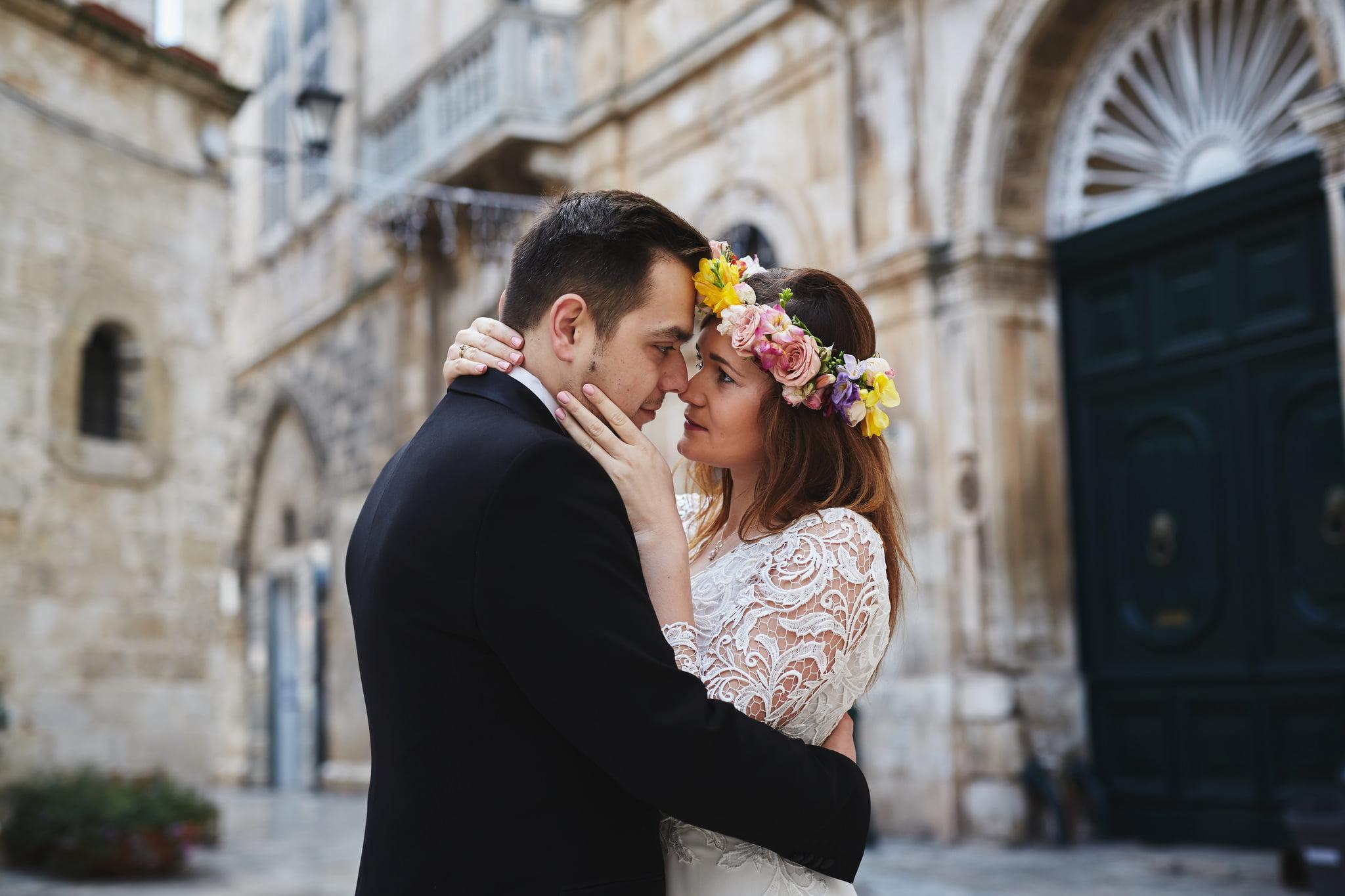 romantyczne zdjęcia ślubne Florencja