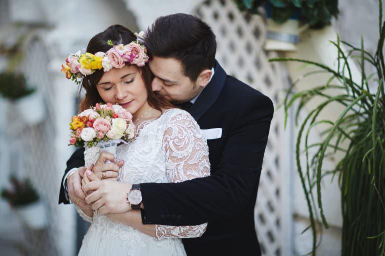 rustykalna sesja ślubna wew Włoszech