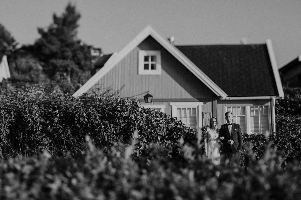 rustykalna sesja ślubna Norwegia fiordy