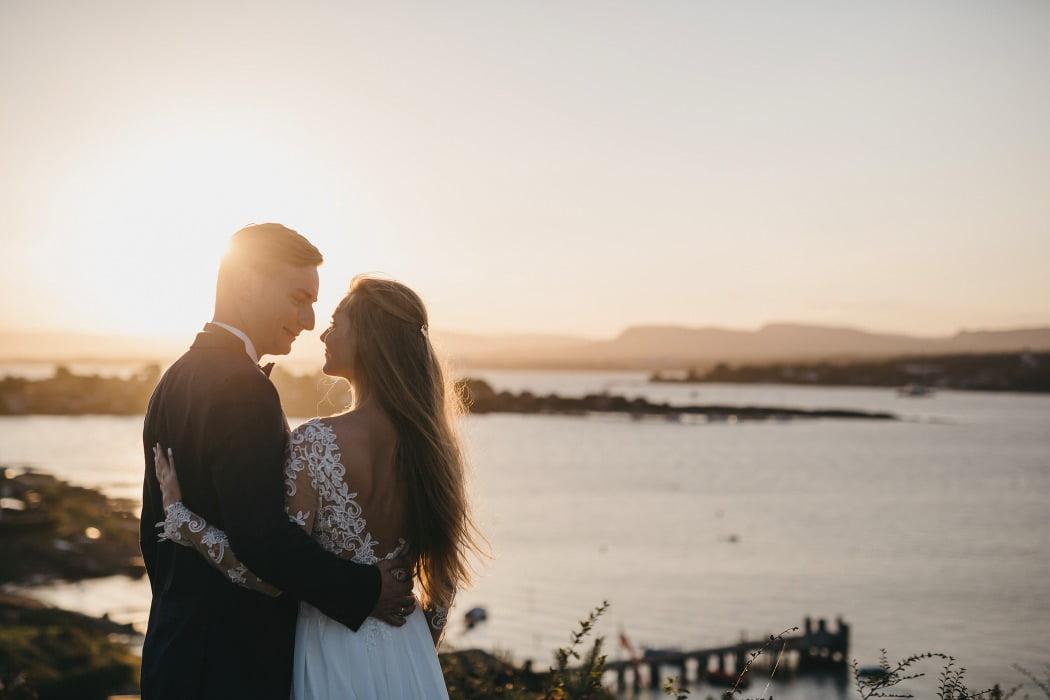 Norwegia sesja ślubna w plenerze
