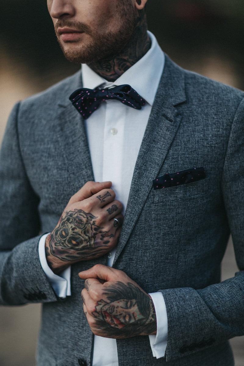 tatoo groom