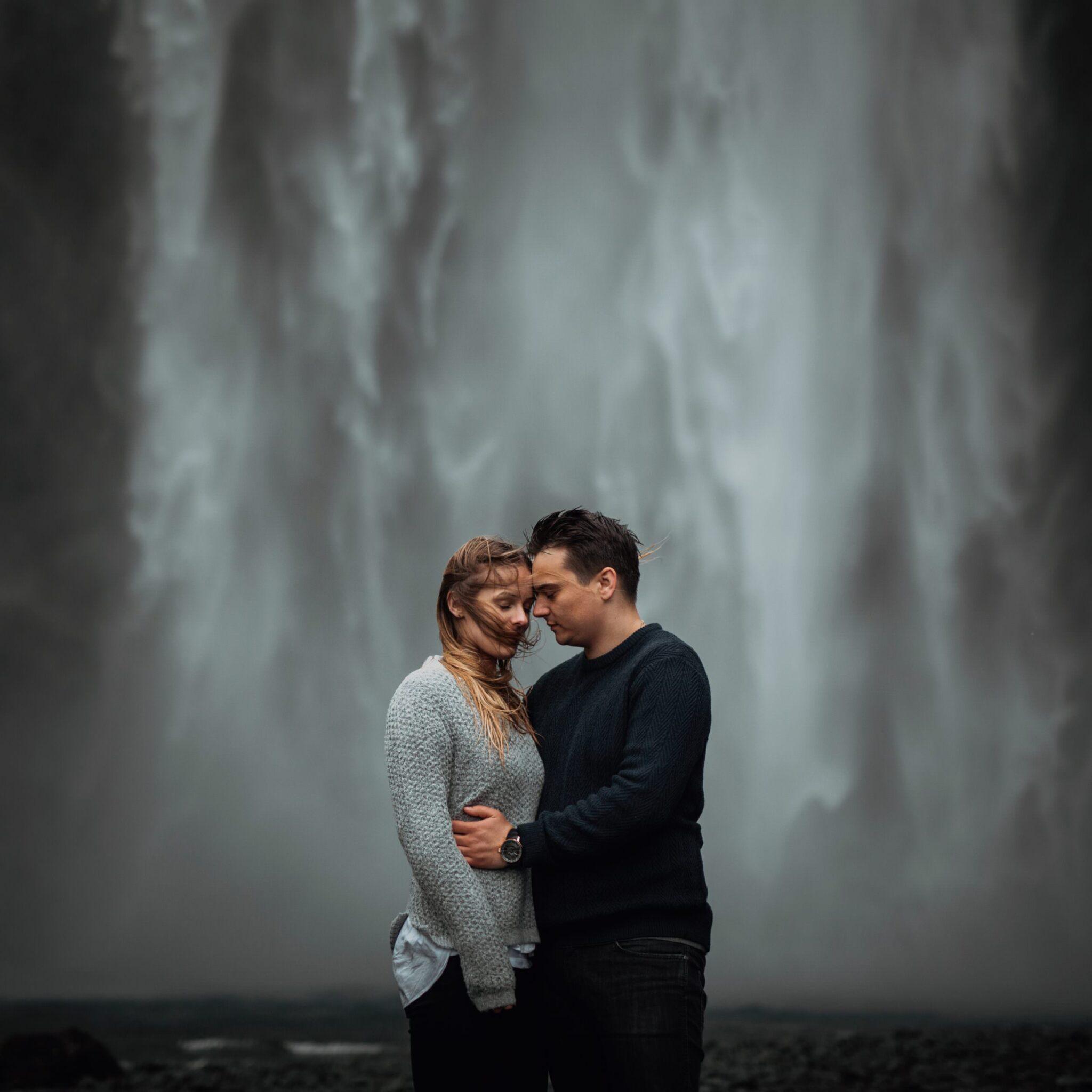 sesja narzeczeńska Islandia