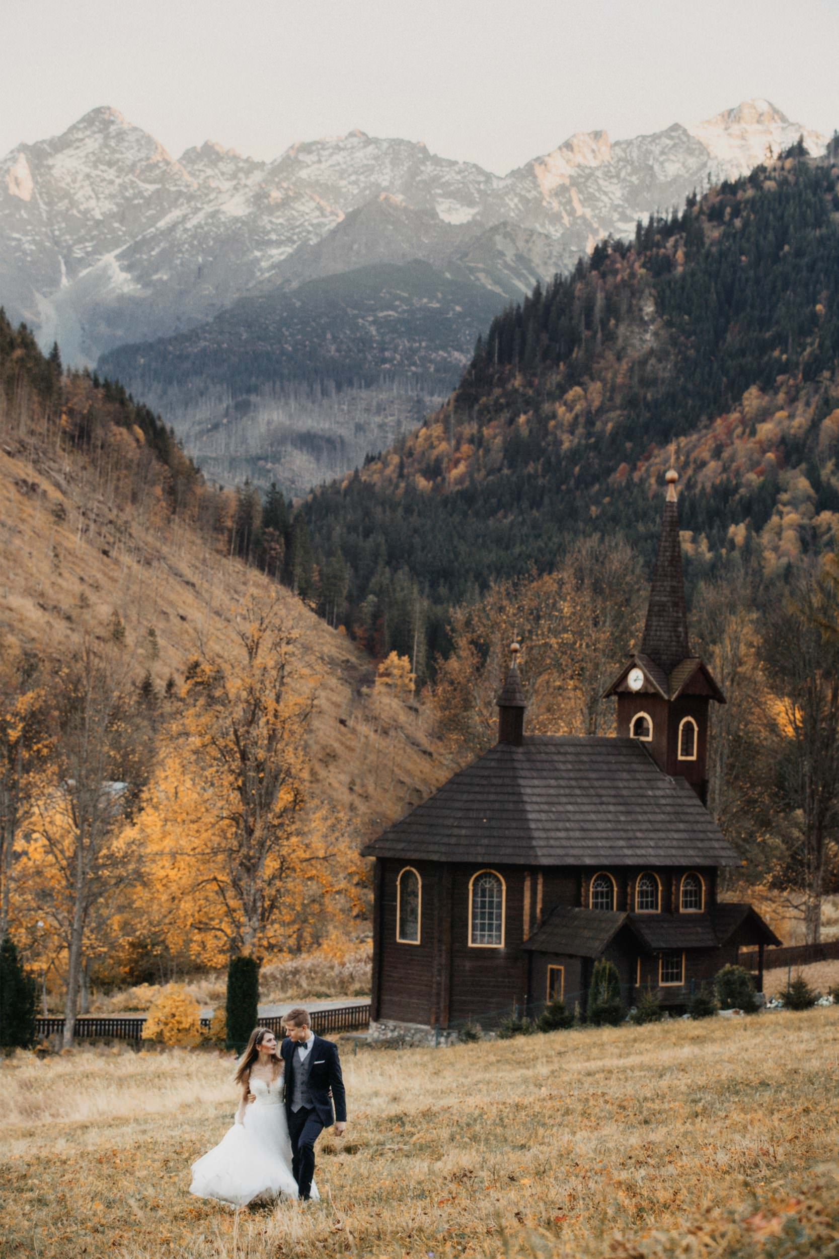 plener ślub w górach