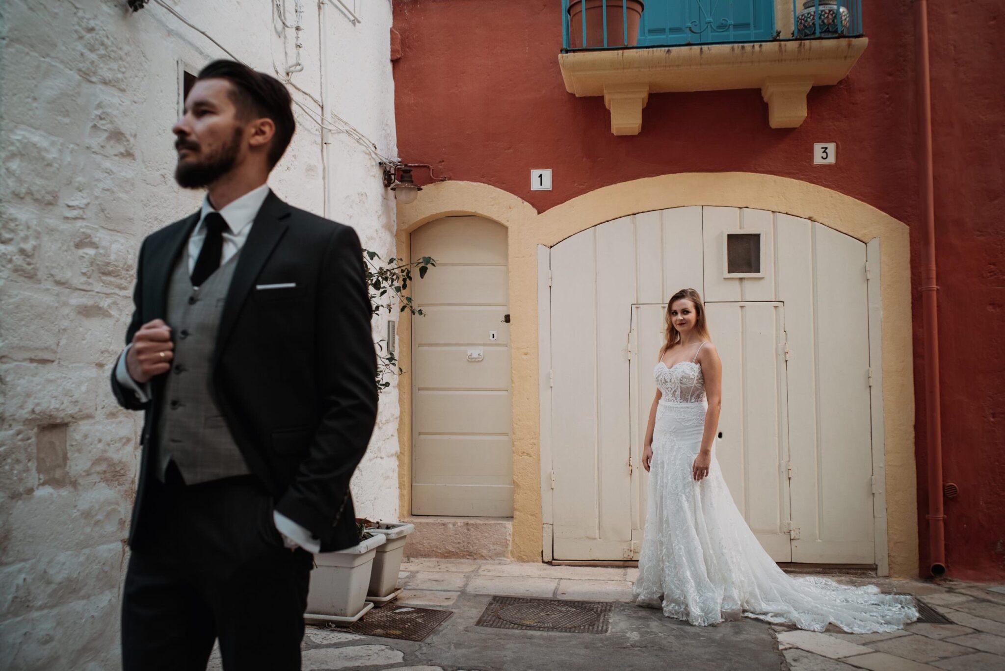 plener ślubny we Włoszech Polignano a Mare Italy