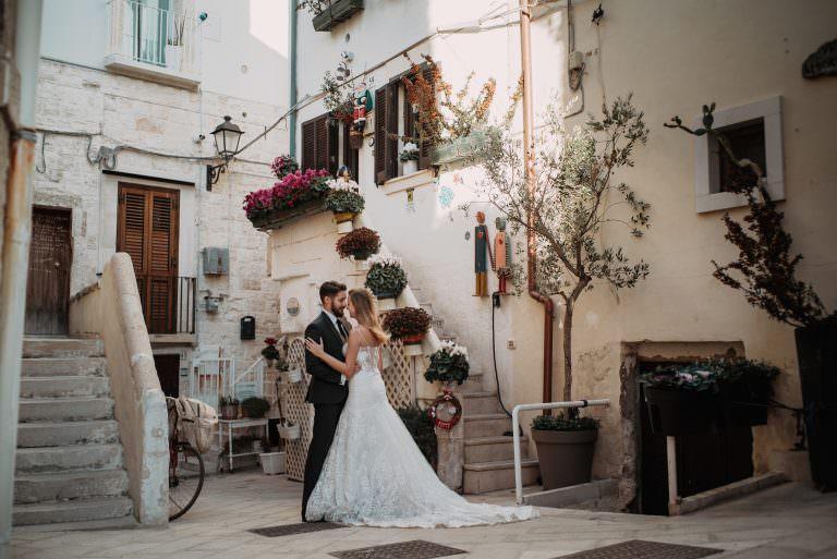 zdjęcia ślubne w stylu boho Italia