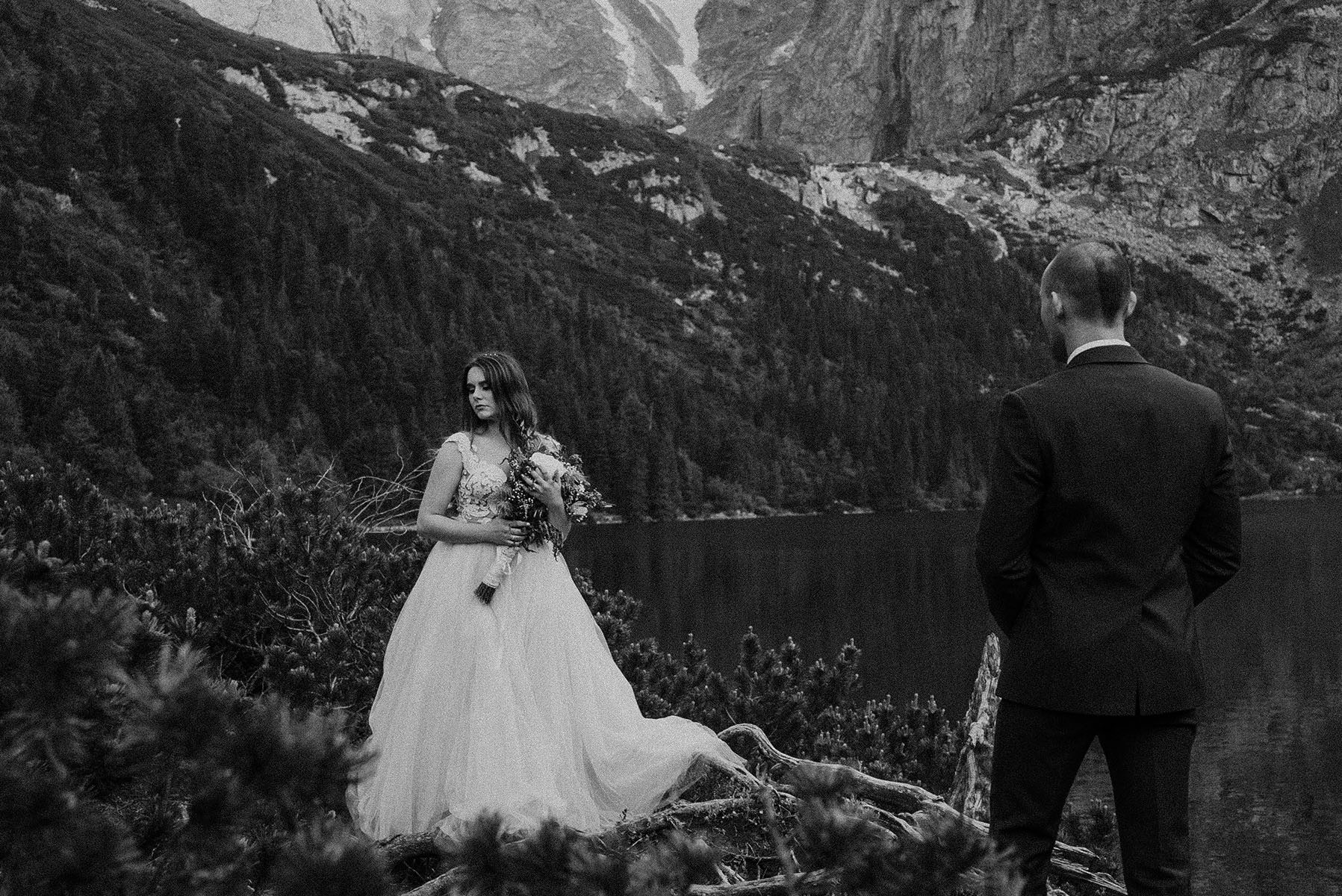 plener ślubny Tatry