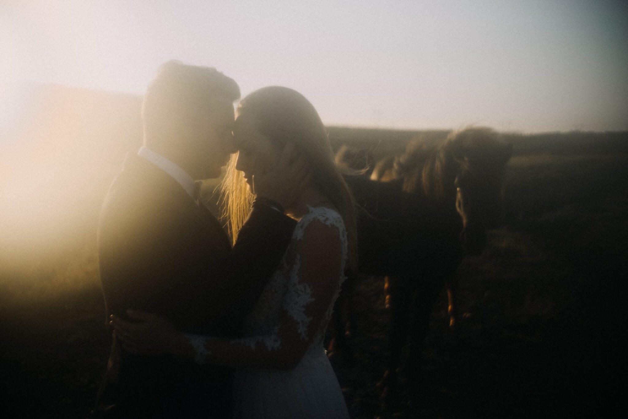 film ślubny na Islandii