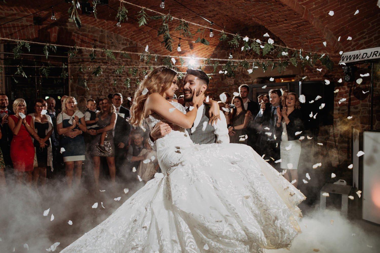 Kraków Dolina Cedronu wesele