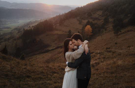 film ślubny rustykalny