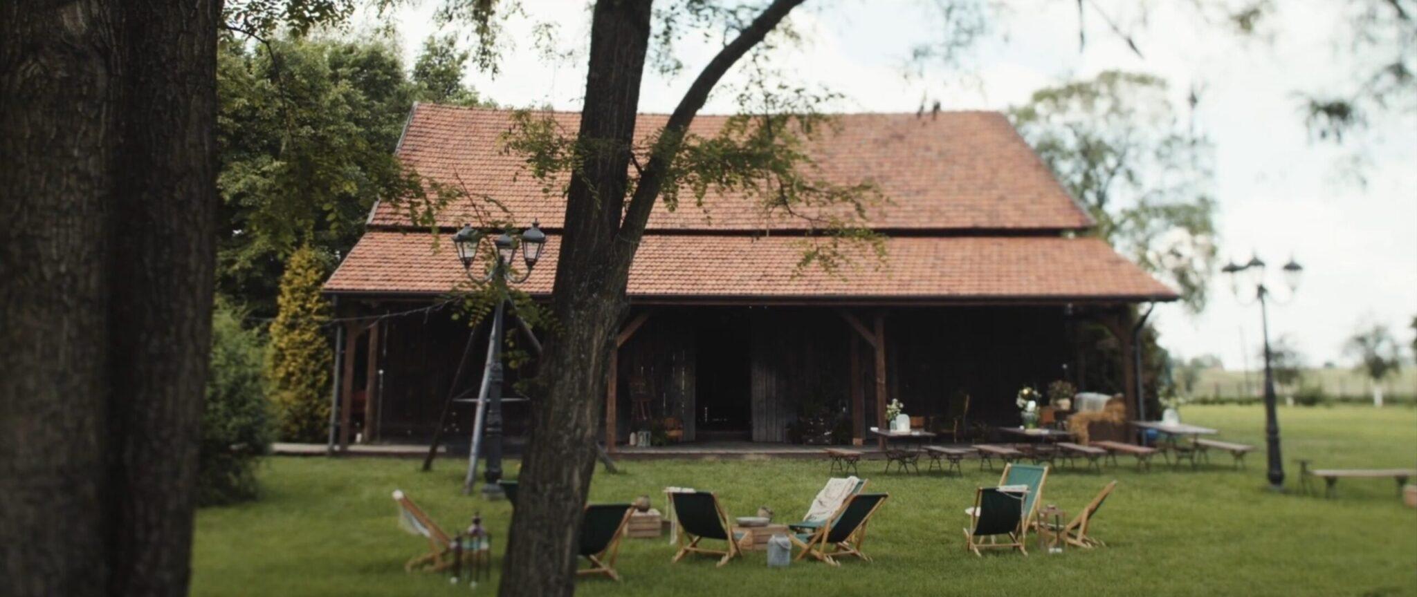 Folwark Wiązy - rustykalna stodoła na wesele